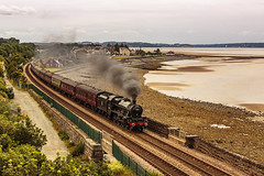 Mainline_2019_07_21_050 (Phil_the_photter) Tags: steam steamengine steamloco steamrailway northwalescoastexpress 5690 45690 leander rhyl edgehill class37 37685 jubilee llanfairfechan