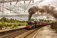 Mainline_2019_07_21_015 (Phil_the_photter) Tags: steam steamengine steamloco steamrailway northwalescoastexpress 5690 45690 leander rhyl edgehill class37 37685 jubilee llanfairfechan