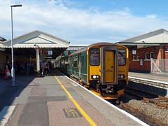 150248 Paignton (Marky7890) Tags: gwr 150248 class150 sprinter 2t22 paignton railway devon rivieraline train