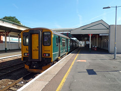 150249 Paignton (Marky7890) Tags: gwr 150249 class150 sprinter 2t22 paignton railway devon rivieraline train