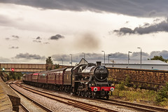 Mainline_2019_07_21_052 (Phil_the_photter) Tags: steam steamengine steamloco steamrailway northwalescoastexpress 5690 45690 leander rhyl edgehill class37 37685 jubilee llanfairfechan