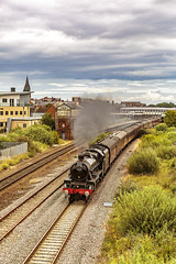 Mainline_2019_07_21_040 (Phil_the_photter) Tags: steam steamengine steamloco steamrailway northwalescoastexpress 5690 45690 leander rhyl edgehill class37 37685 jubilee llanfairfechan