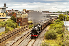 Mainline_2019_07_21_037 (Phil_the_photter) Tags: steam steamengine steamloco steamrailway northwalescoastexpress 5690 45690 leander rhyl edgehill class37 37685 jubilee llanfairfechan