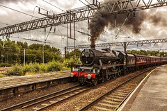 Mainline_2019_07_21_020 (Phil_the_photter) Tags: steam steamengine steamloco steamrailway northwalescoastexpress 5690 45690 leander rhyl edgehill class37 37685 jubilee llanfairfechan