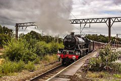 Mainline_2019_07_21_007 (Phil_the_photter) Tags: steam steamengine steamloco steamrailway northwalescoastexpress 5690 45690 leander rhyl edgehill class37 37685 jubilee llanfairfechan