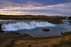 Iceland- Saxafoss Waterfall (Jarco Hage) Tags: byjarcohage weather natuur nature outside waterfall waterval iceland ijsland
