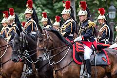 Le mors aux dents. Paris, juillet 2019 (Bernard Pichon) Tags: paris france bpi760 cheval armée garderépublicaine défilée champselysées 14juillet fr75