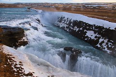 Iceland - Gullfoss Waterfall (Jarco Hage) Tags: byjarcohage weather natuur nature outside waterfall waterval iceland ijsland