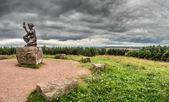 SILVERHILL COLLIERY MEMORIAL- (stevef16G) Tags: nottinghamshire colliery silverhill mine coalmine panoramic olympus outdoor outdoorphotography view vista miner