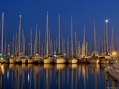 Marine of Alimos-GREECE (mary.th) Tags: night boats reflections sea lights marine alimos greece long exposure landscape seascape