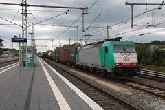 LNS 1840 te Bad Bentheim (vos.nathan) Tags: bad bentheim bh lineas lns 2840 br 186 baureihe 232 traxx
