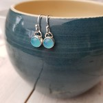 The winner of my little poll on stories was these simple earrings. Definitely preferred for their simple, minimal look compared to the other pair shown. I just love this summery sea blue stone. 💙💙 #handmadebusiness #handmadejewellery thumbnail