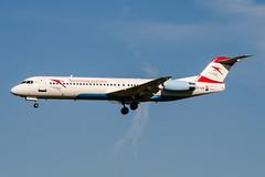 OE-LVD (PlanePixNase) Tags: amsterdam ams eham schiphol planespotting airport aircraft austrian arrows fokker 100 f100
