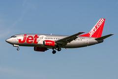 G-CELJ (PlanePixNase) Tags: amsterdam ams eham schiphol planespotting airport aircraft jet2 boeing 737 737300 b733