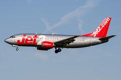 G-CELV (PlanePixNase) Tags: amsterdam ams eham schiphol planespotting airport aircraft jet2 boeing 737 737300 b733