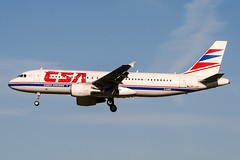 OK-LEF (PlanePixNase) Tags: amsterdam ams eham schiphol planespotting airport aircraft csa czechairlines airbus 320 a320