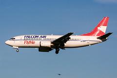 SE-DPC (PlanePixNase) Tags: amsterdam ams eham schiphol planespotting airport aircraft falconair b733 737 737300 boeing