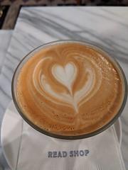 Latte Love at Read Coffee Shop (JavaJoba) Tags: