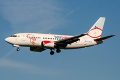 G-BVZE (PlanePixNase) Tags: amsterdam ams eham schiphol planespotting airport aircraft bmibaby boeing b735 737500 737