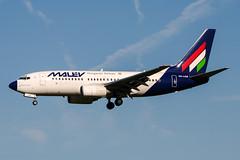 HA-LOA (PlanePixNase) Tags: amsterdam ams eham schiphol planespotting airport aircraft malev boeing 737 737700 b737