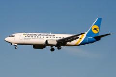 UR-GAP (PlanePixNase) Tags: amsterdam ams eham schiphol planespotting airport aircraft ukraineinternational boeing b734 737400 737