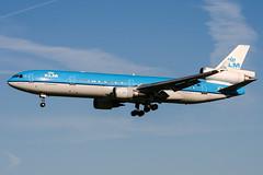 PH-KCC (PlanePixNase) Tags: amsterdam ams eham schiphol planespotting airport aircraft klm mcdonnell douglas md11