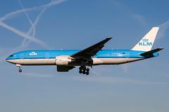 PH-BQM (PlanePixNase) Tags: amsterdam ams eham schiphol planespotting airport aircraft klm boeing 777 777200 b772