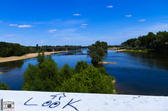 Look at that view @ Pont de Fils - Tours , Centre France (leblanc_julian) Tags: journey streets streetart bikes fixie fixiebikes road rc car track race bridges ponts france centre centrefrance regioncentre reflex ressourcing camera vignes nature photographie photographer photo lightroom lights colors colorfull colorsoffrance helmet graff eglise saint landscape summer trip loire loirevalley quaisdeloire bordsdeloire art architecture canon canoneos pentax paint