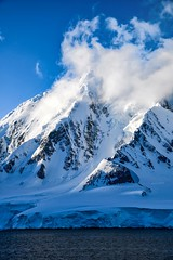Crest lines (Timothy Hastings) Tags: light summer snow mountains ice nature antarctica reality peaks heights towering wilderness