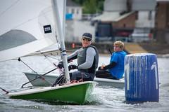 DSC02704 (philbase) Tags: laser dinghy competition midland sailing club event edgbaston birmingham water resevoir sails performance