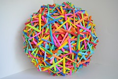 """""""Supernova"""" (Byriah Loper) (Byriah Loper) Tags: origami origamimodular modularorigami modular byriahloper paperfolding paper polygon polyhedron wireframe compound complex"""