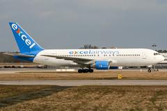 G-BNYS (PlanePixNase) Tags: hannover aircraft airport planespotting haj eddv langenhagen boeing 767200 767 b762 xlcom excel
