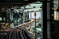 S Curve (PAJ880) Tags: queens queensboro plaza mta 7 line s curve tracks signals rapid transit new york city elevated urban