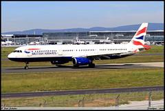 """AIRBUS A321 231 """"BRITISH AIRWAYS"""" G-MEDM 2799 Frankfurt juin 2019 (paulschaller67) Tags: airbus a321 231 britishairways gmedm 2799 frankfurt juin 2019"""