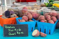 New Potatoes (WayNet.org) Tags: vegetable richmond waynet wayne county farmers market indiana potatotes waynetorg farmersmarket waynecounty