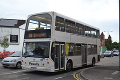 Powell's 80 PF52TFX (Will Swain) Tags: doncaster 20th june 2019 bus buses transport transportation travel uk britain vehicle vehicles county country england english powells 80 pf52tfx former ct plus htl10 hct hackney london