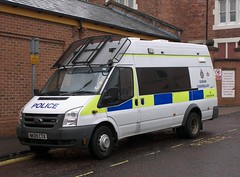 Ford Transit (NK09 CTX) - Durham Constabulary (Ray's Photo Collection) Tags: ford transit police durham nk09ctx constabulary