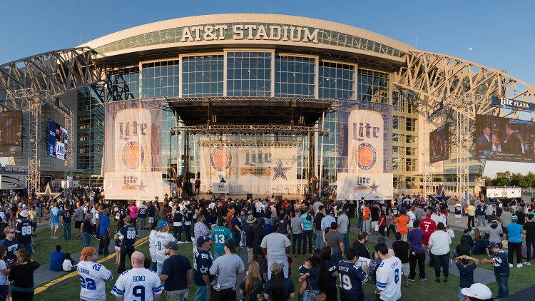 Cowboys Stage Att&T Stadium