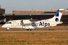 OE-LKF (PlanePixNase) Tags: hannover aircraft airport planespotting haj eddv langenhagen airalps airaps dornier do328