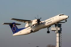 D-ADHC (PlanePixNase) Tags: hannover aircraft airport planespotting haj eddv langenhagen augsburgairways lufthansa team dash8 dh4 dehavilland