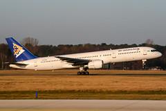P4-EAS (PlanePixNase) Tags: hannover aircraft airport planespotting haj eddv langenhagen airastana boeing 757 757200 b752