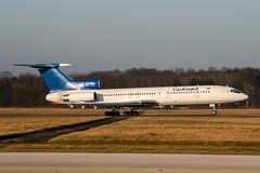 RA-85725 (PlanePixNase) Tags: hannover aircraft airport planespotting haj eddv langenhagen sibir tupolev tu154 t154