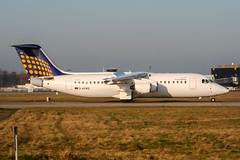 D-AEWQ (PlanePixNase) Tags: hannover aircraft airport planespotting haj eddv langenhagen eurowings bae 146200 lufthansa