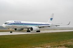 RA-64508 (PlanePixNase) Tags: hannover aircraft airport planespotting haj eddv langenhagen krasair tupolev tu214