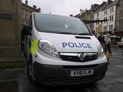 Vauxhall Vivaro (KV61 EJN) - Durham Constabulary (Ray's Photo Collection) Tags: van police durham vauxhall constabulary kv61ejn vivaro