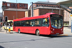 Go North West 4979 (NK54 NUJ) (SelmerOrSelnec) Tags: gonorthwest volvo b7rle wright nk54nuj manchester shudehill drivertrainer bus gowearbuses