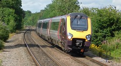 A Sunny Summer Saturday Afternoon (The Black Country Spotter) Tags: class220 voyager dmu 220019 tamworth railway station staffordshire crosscountry trains networkrail britishrailways