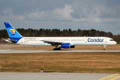 D-ABOA (PlanePixNase) Tags: hannover aircraft airport planespotting haj eddv langenhagen condor 757 757300 boeing b753