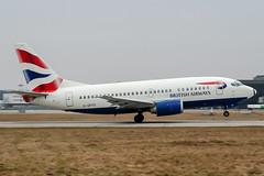 G-GFFD (PlanePixNase) Tags: hannover aircraft airport planespotting haj eddv langenhagen british britishairways boeing 737 b735 737500