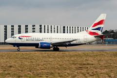 G-GFFE (PlanePixNase) Tags: hannover aircraft airport planespotting haj eddv langenhagen british britishairways boeing 737 b735 737500